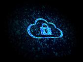 云服务安全锁图片