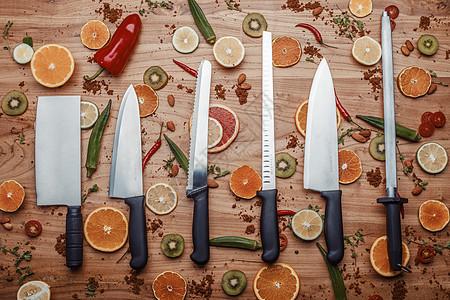 厨房刀具用品图片