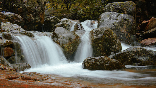 安吉太湖源山水溪流图片
