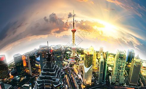 上海建筑群 图片