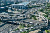 北京城市移轴微缩景观图片