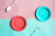 盘子背景图图片