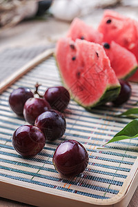 小暑 之夏日水果葡萄图片