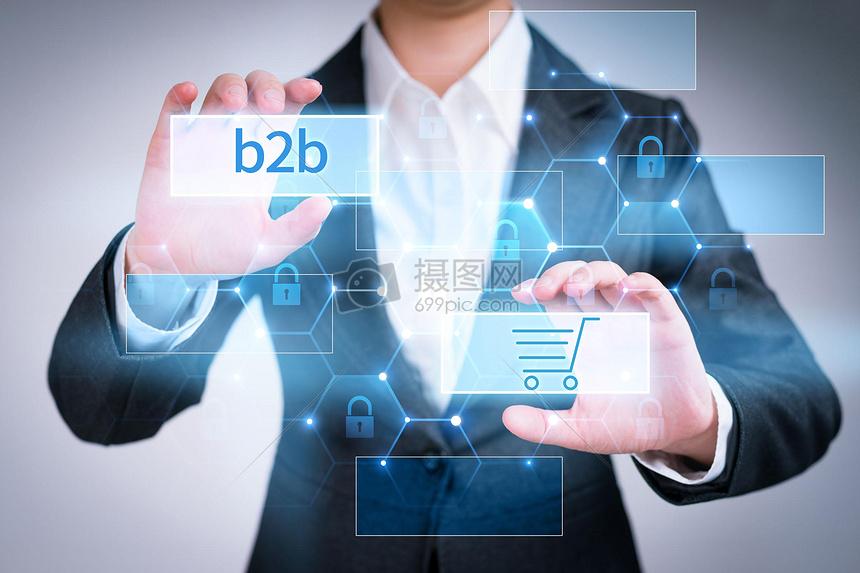 商务b2b背景图片