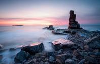 海岛石礁图片