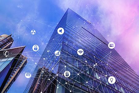 商务楼通信技术图片