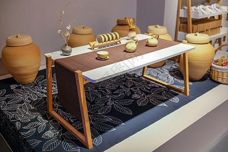 典雅温馨小茶桌图片