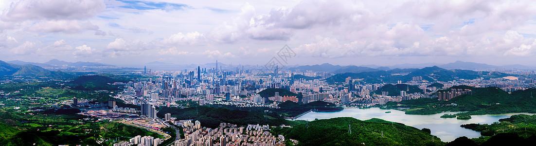 深圳中心区全景图片