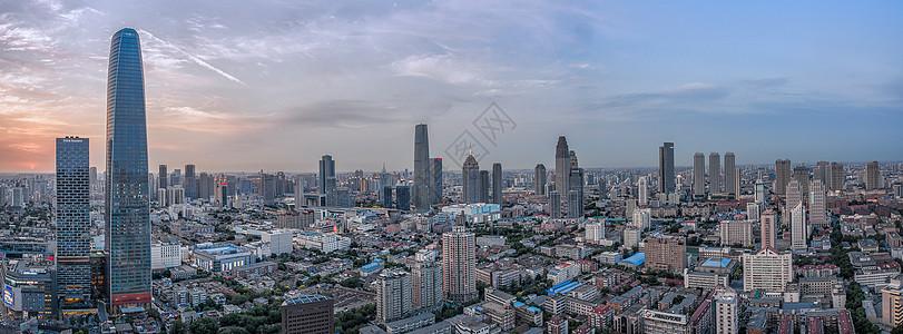 天津和平全景图片