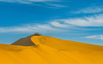 金色的沙漠图片