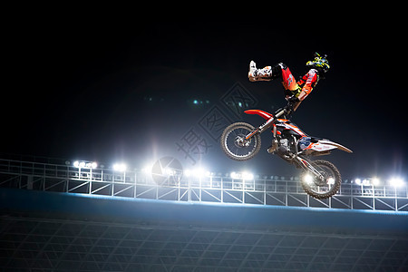 极限摩托车运动素材图片
