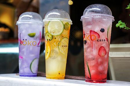 夏日饮料图片