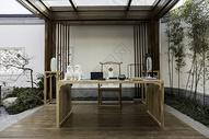 新中式样板房装修风格图片