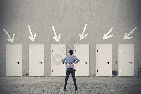 选择大门,选择人生图片