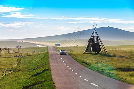内蒙公路图片