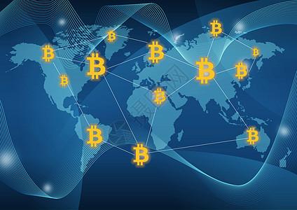 全球比特币图片