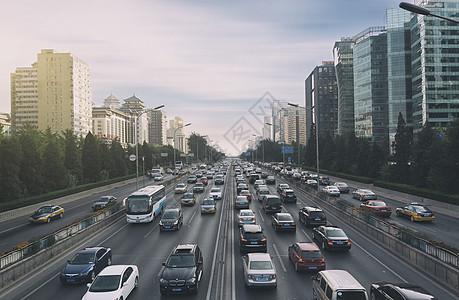 北京城市道路交通图片