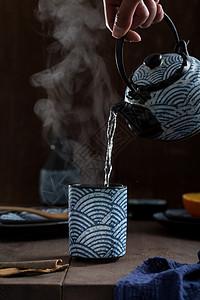冲泡茶水图片