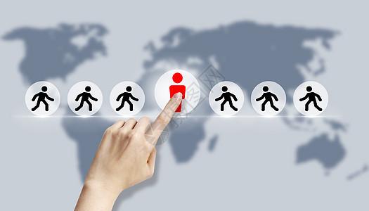 人力资源和客户关系管理图片