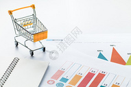 购物清单购物车报表分析图片