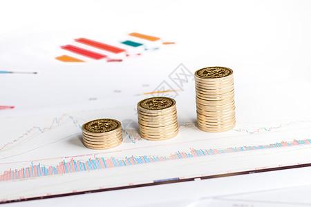 业绩财务福利飙升概念图图片