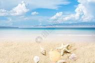 沙滩背景 图片