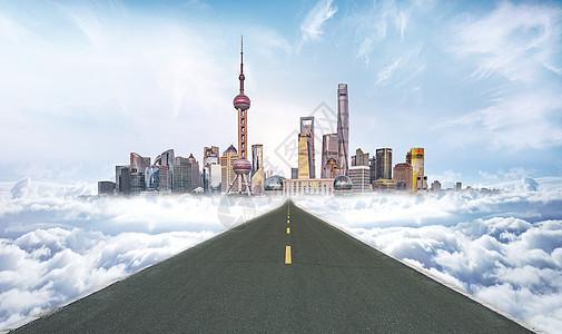 通向未来道路图片