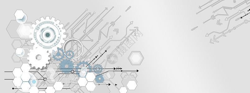线条信息科技图片