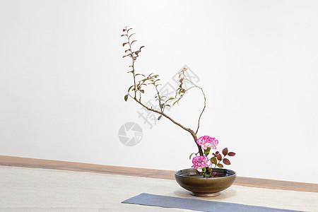 日式插花图片