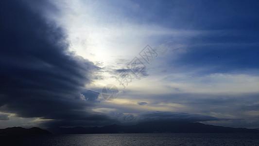 深圳的天空图片