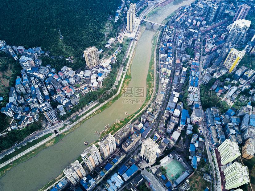 标签: 通江风景航拍建筑四川城市俯拍航拍城市图片航拍城市图片免费