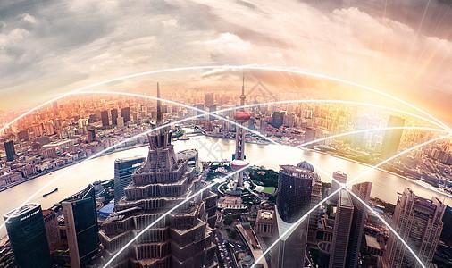 海滨城市大数据网络图片