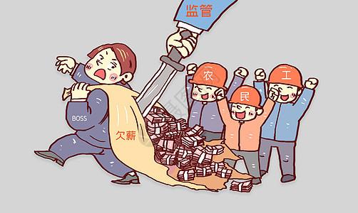 工人讨薪图片