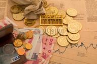 金融投资理财行业配图图片