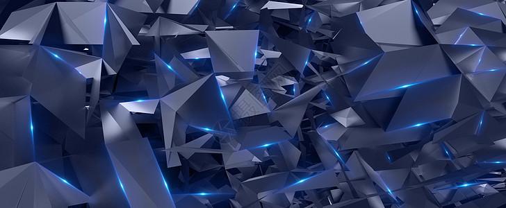 多维空间碎片科技图片