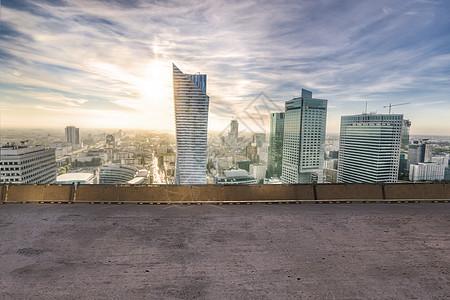 俯览城市图图片