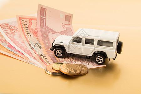 汽车投资消费概念图图片