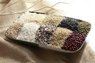 红豆大米等静物食材图片
