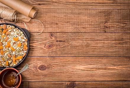 胡萝卜杂粮粥背景素材图片