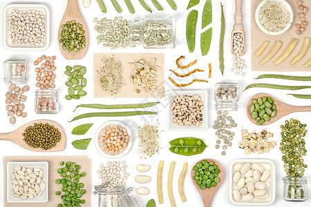 五谷蔬菜健康素材背景图片