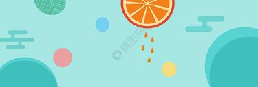 简约创意水果背景图片