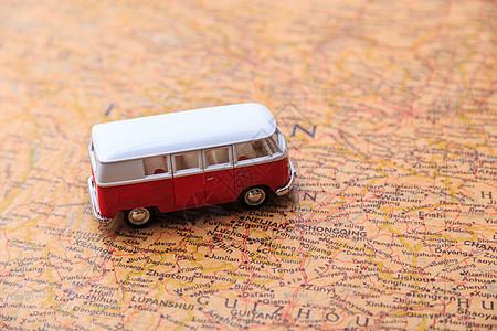 汽车和老地图图片