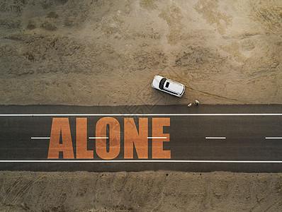 孤独沙漠图片
