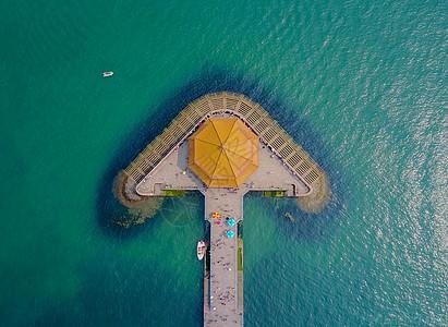 青岛地标——栈桥图片