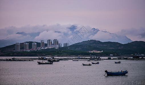 珠山云海渔家图片