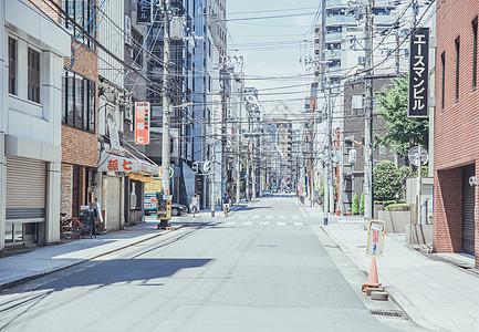日本关西地区大阪街景图片