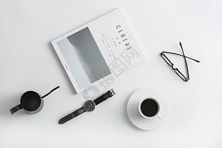 文艺书桌图片