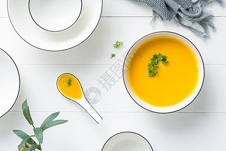南瓜浓汤图片
