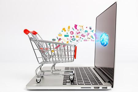 网购互联网发展图片