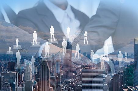 全球化团队合作图片